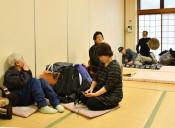 台風恐れ、不安な一夜 県内、高齢者ら早め避難