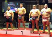 五十嵐(盛岡市役所)初V 世界相撲個人重量級