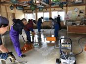 浜の駅再開へ一丸 岩泉・小本、台風で床上浸水