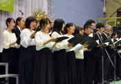 教育研究の推進誓う 岩手大創立70周年式典