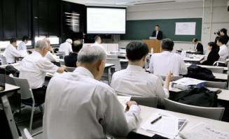 徳島県鳴門市で開かれた日本NIE学会