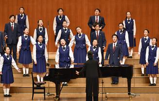 3位相当の岡山県教育長賞を獲得した不来方音楽部