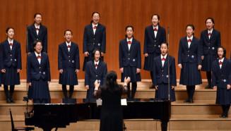 銅賞を受賞した矢巾北特設合唱部