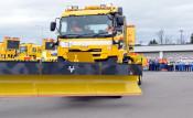 冬の高速道 安全確保を 盛岡・雪氷作業出動式