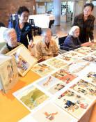 布アート 生きがいに 八幡平市の老人ホーム、絵本作りに初挑戦