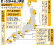 釜石製鉄所の名称変更 日鉄、来年4月から6製鉄所体制に