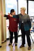 介護予防、産学が連携 久慈・県立大が利用者の改善策提供