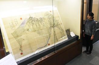 松川温泉にまつわる史料を紹介する企画展「松川温泉記」