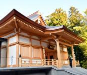 中尊寺 深く体感 平泉・多目的施設を整備、来年4月に本格活用