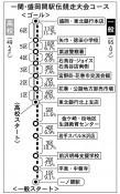 日報駅伝 37チーム、走者決定 23日号砲
