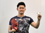 小原(花巻東高出)米球界に挑戦 「野球人生最善尽くす」
