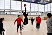 鵜住居へ移転、新たな門出 釜石市民体育館オープン
