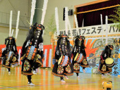伝統の演舞、8団体が観衆魅了 奥州・江刺民俗芸能フェス