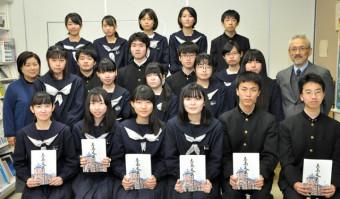 2年連続で最高賞を受賞した盛岡四文芸部