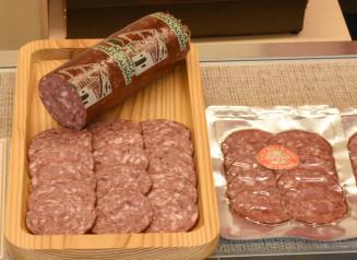 IFFA日本食肉加工コンテストで金賞を受賞した岩手短角和牛サラミ