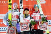 陵侑6位、潤志郎は26位 スキージャンプW杯第3戦