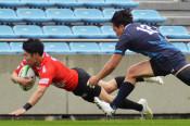 釜石SWが今季初白星 ラグビートップチャレンジリーグ