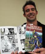 「九戸政実物語」英語でも 漫画を翻訳、訪日客らにPR