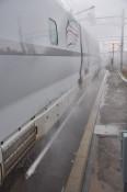 新幹線融雪装置を初導入 JR盛岡支社、大釜駅で15日開始