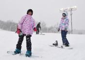 純白ゲレンデが待ってます 奥中山高原スキー場