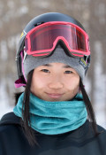 岩渕(一関学院高)は4位 スノーボード・女子ビッグエア