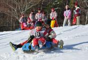 冬の岩手、沖縄の中学生が体験 うるま市から訪問
