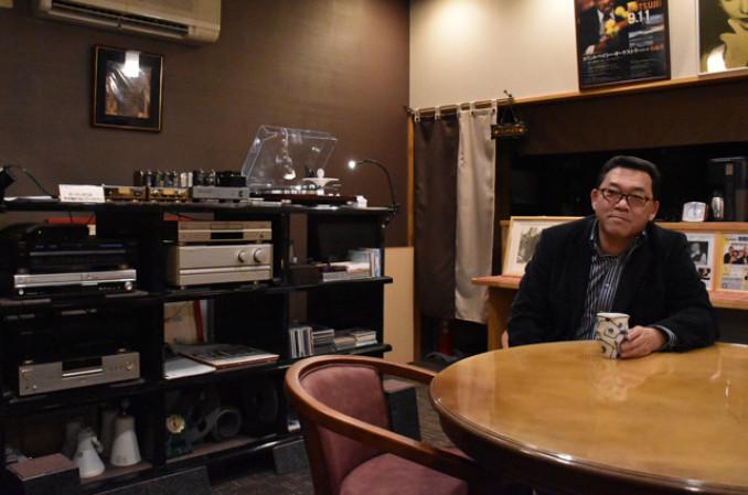 「市内外の人たちに来てもらい、いい音を楽しんでほしい」とオープンを心待ちにする熊谷立志さん