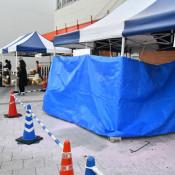 ボンベ破裂、3人軽傷 宮古・イベント、準備中の出店