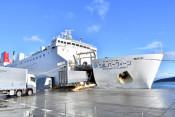 宮蘭フェリー運航継続を 県と2市が運営会社に要望