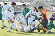 専大北上、女子の初戦 全日本高校女子サッカー