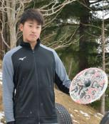 「花巻傘」に誓う活躍 巨人・堀田投手、地元で自主トレ