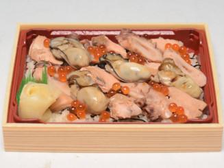 お弁当・お総菜大賞2020で優秀賞に輝いたマイヤの「三陸リアス海物語弁当」