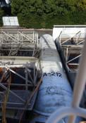 ロケット、実はICBM? 北九州の遊園地に野ざらし