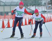 奥中山(一戸)15年ぶりV 県スキー3大会・中学女子