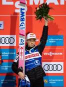 小林陵侑3位、クバツキが優勝 W杯ジャンプ男子個人