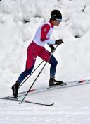 田中(西和賀町協会)2年ぶりV 県民体スキー、距離・成年女子A