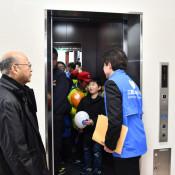 震災遺構にエレベーターを新設 宮古・たろう観光ホテル