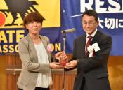 元日本代表の岩清水ら表彰 盛岡で県サッカー協会70周年事業