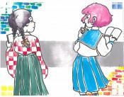 ブックカバーは青春色 高校生コンテスト石川さん(不来方)大賞