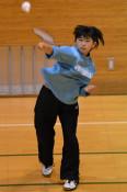 本県バド界の新星は小学生 全国Vの畠山、夢は五輪