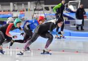 熊谷(盛岡工高出)500V スケート国体成年女子