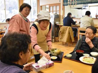 惜しまれつつ閉店した「かあちゃん食堂せせらぎ」。東日本大震災では後方支援で大きな役割を果たした=31日、陸前高田市横田町