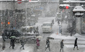 盛岡で今季初の真冬日 内陸や沿岸北部で積雪