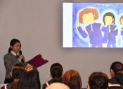 高校生がつなぐ震災の教訓 釜石、大槌の生徒が活動報告