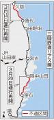 普代-久慈は来月14日再開 三鉄、20日に全線復旧