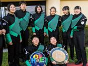 米パレード、堂々の演奏 専大北上高生「経験生かす」と決意