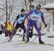 三ケ田準V スキー国体複合成年男子A