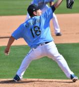 球速アップ 左腕の位置が鍵 雄星、直球のフォーム見直し