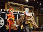町家女子神楽、有終へ きょう遠野・旧三田屋公演