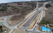 久慈北―侍浜 期待乗せ開通 三陸道、アクセス向上